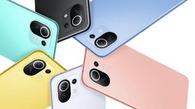 小米11 青春版,靓丽五色、史上最轻薄的小米手机