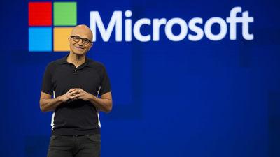 微软(MSFT)晋升为市值超过 2 万亿美元的公司