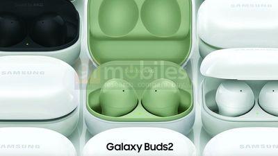 Galaxy Buds2 渲染图曝光,新增绿、紫配色,大概率具备主动降噪功能