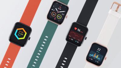 小米生态链企业 70mai 海外发布 Maimo 智能手表,小方屏,不到 40 美元