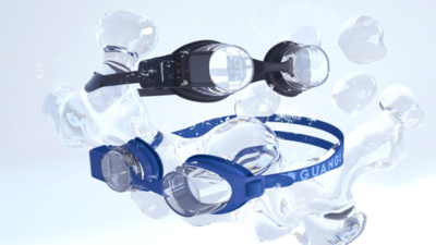 光粒发布 AR 全息智能泳镜 Holoswim,开启全球众筹,国内 599 元预售