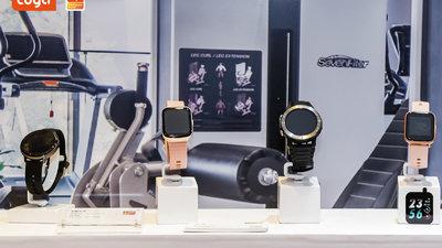 涂鸦智能发布运动健康产品解决方案,AVS 语音手表手环方案亮相