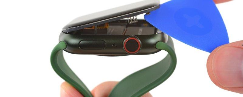 里里外外看个遍,Apple Watch Series 7 到底和前代相比有哪些不同?