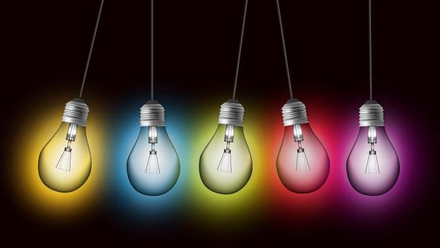 """你家里是否有这些""""彩色""""的灯泡"""
