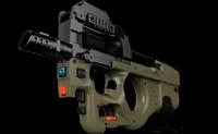 MAG P90 平板游戏枪,游戏大杀器