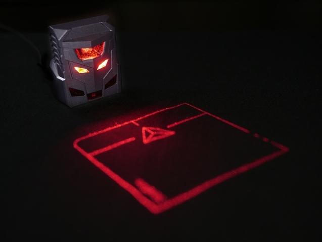 ODiN 激光投影鼠标 世界第一