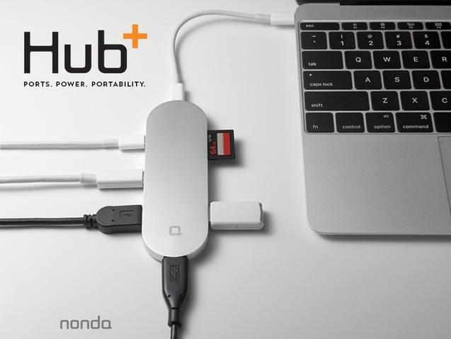 Hub+ Macbook 转接器