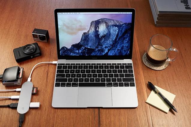 Hub+ Macbook 转接器_4
