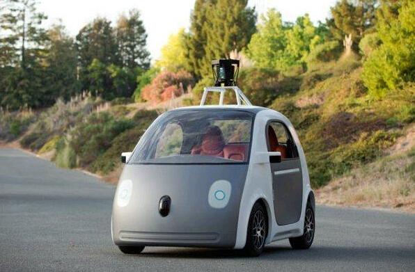 Google无人驾驶 纯电动车