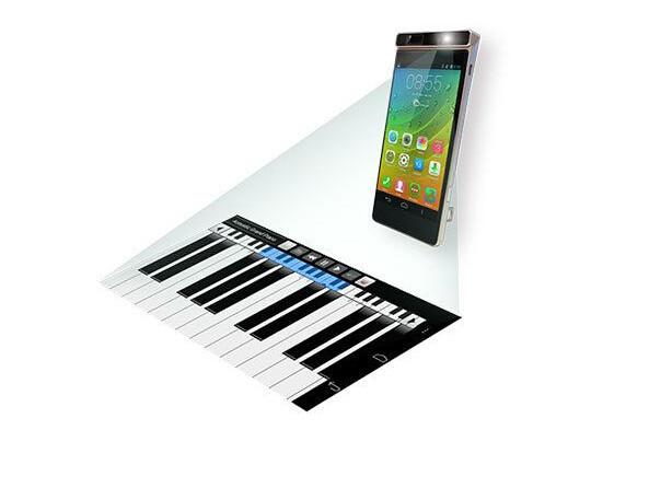 联想 Keywest 投影手机