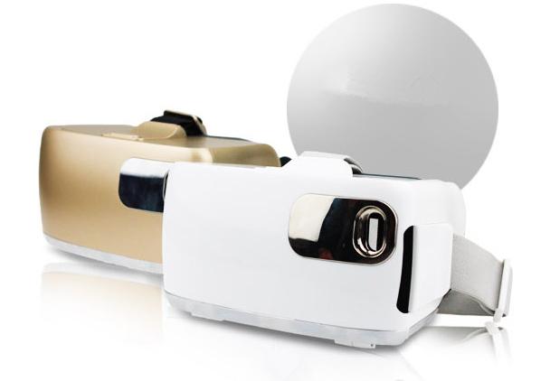 魔甲人 3D 虚拟现实眼镜头盔