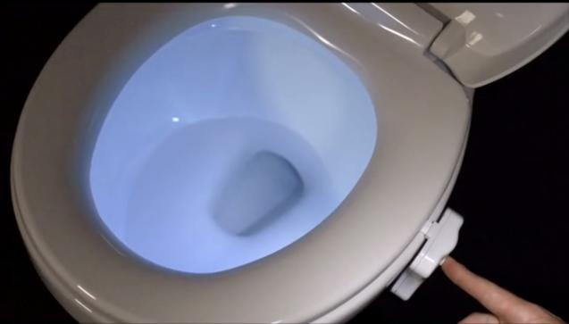 GlowBowl-感知动作的卫生间夜灯