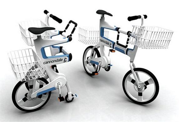 Ville 创意折叠自行车
