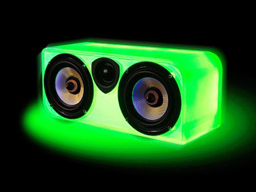MT CXX01 透明智能变色龙音响