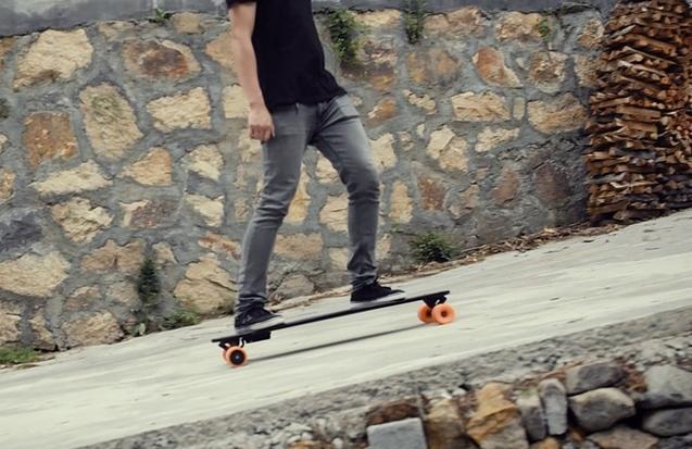 Stary 世界上最轻的电动滑板_2