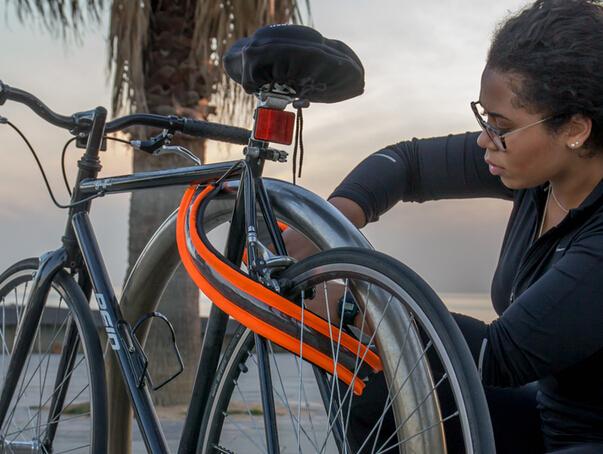 Vivid Lock 发光自行车锁