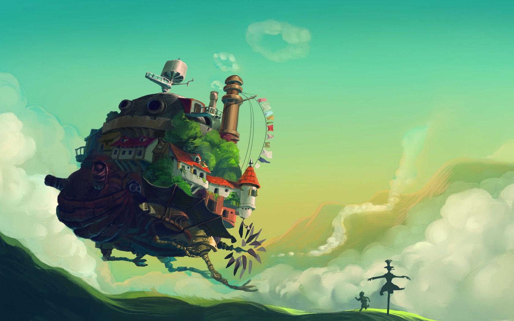 无人机中的城堡