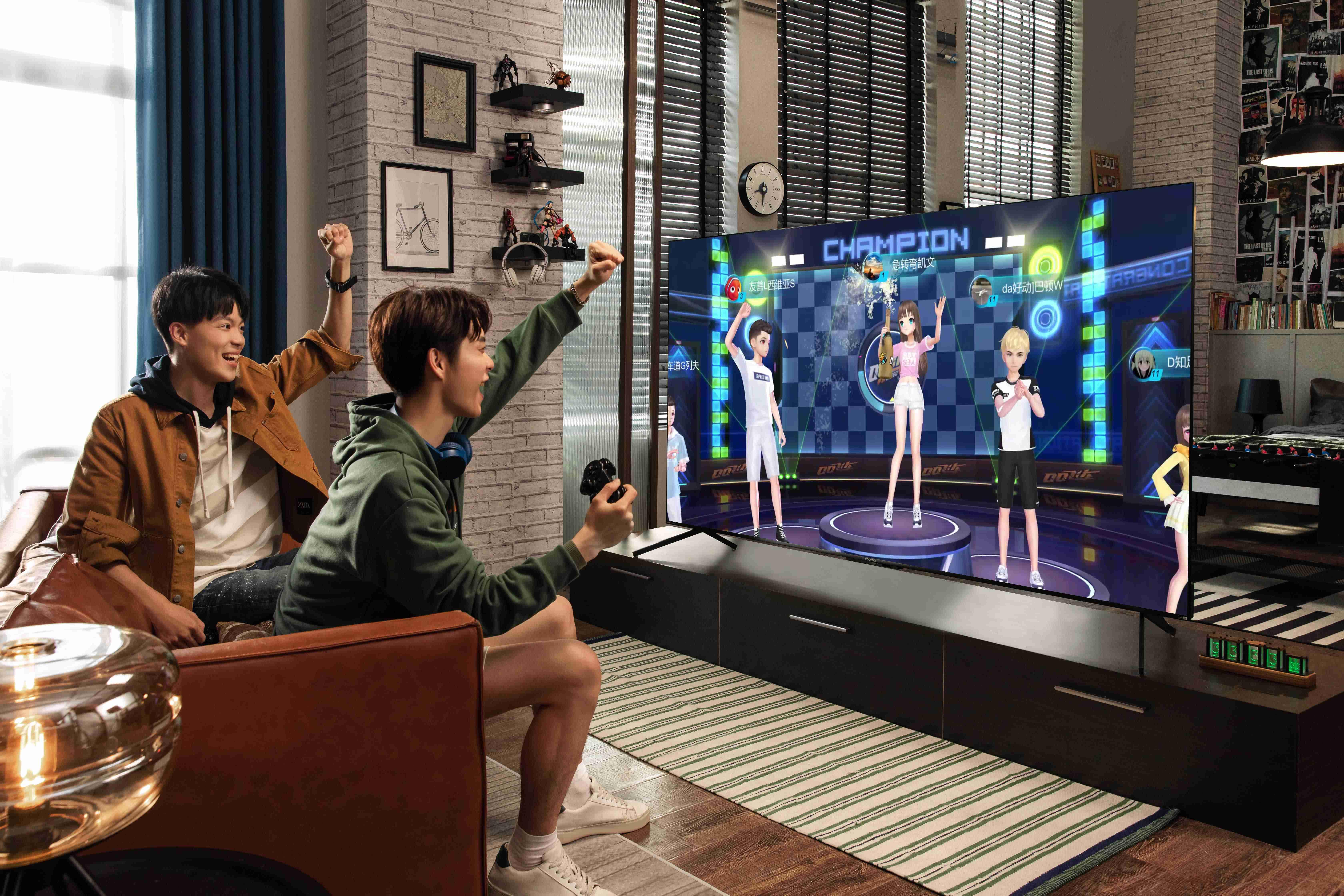 酷开电视玩游戏