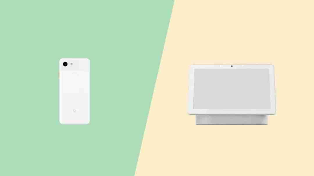 Pixel 智能手机 vs Nest Home 智能音箱