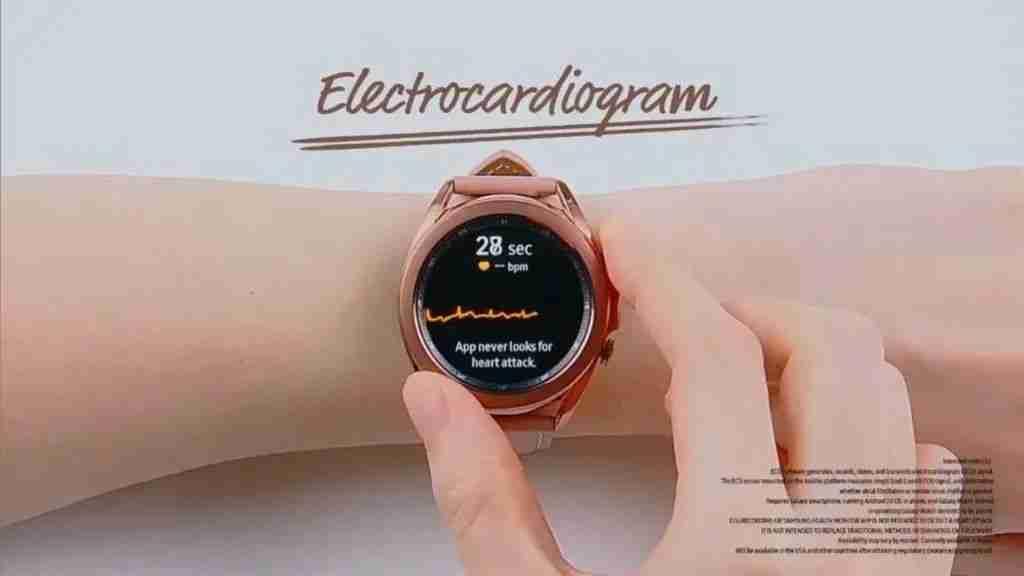 4_4-Galaxy Watch 3 ECG