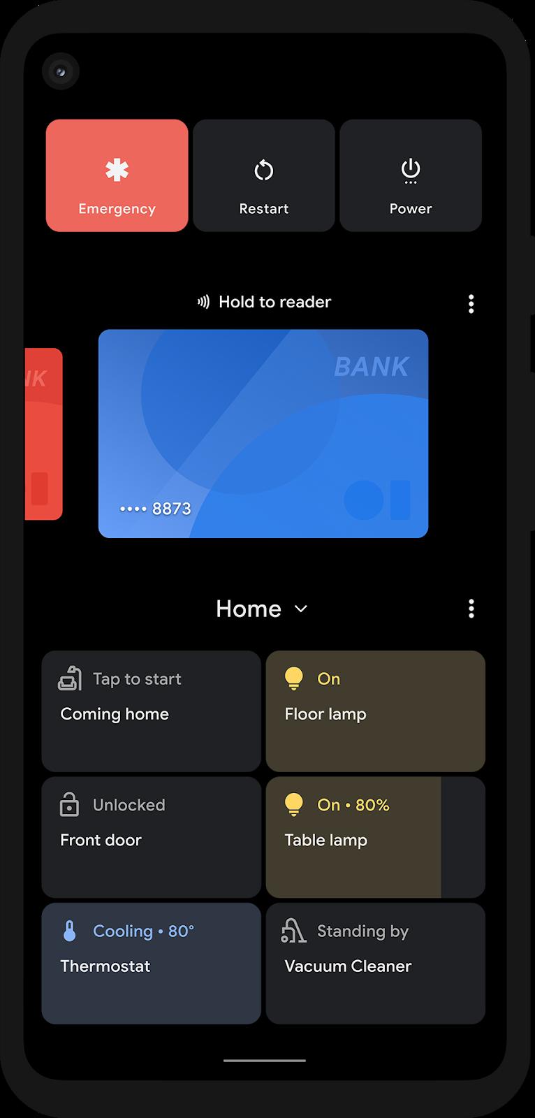 Android 11 设备控制