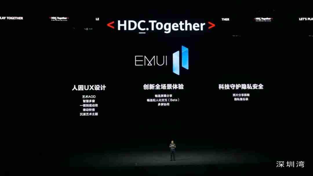 3_6-搭载鸿蒙分布式技术的 EMUI 11