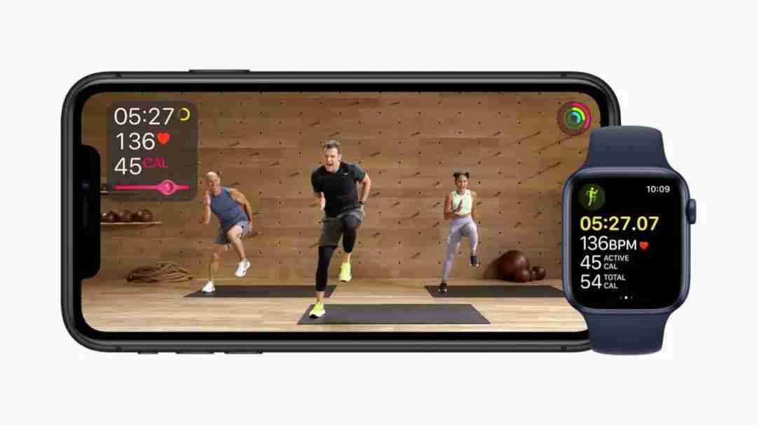 Apple 健身服务 Apple Fitness +