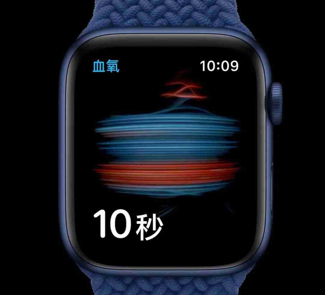 Apple Watch Series 6 血氧监测2