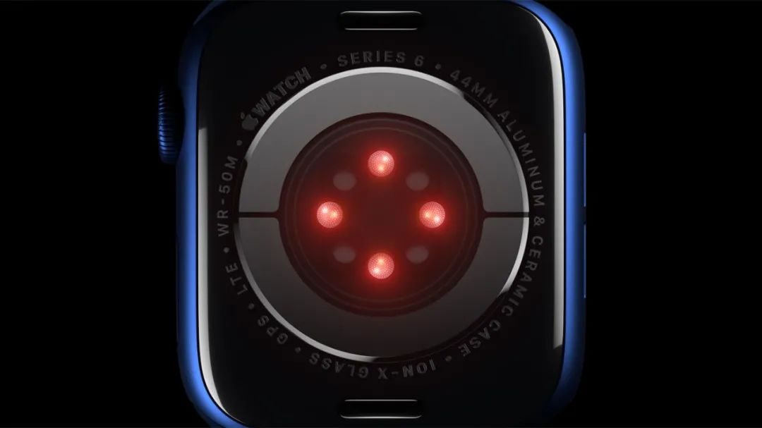 Apple Watch Series 6 血氧监测