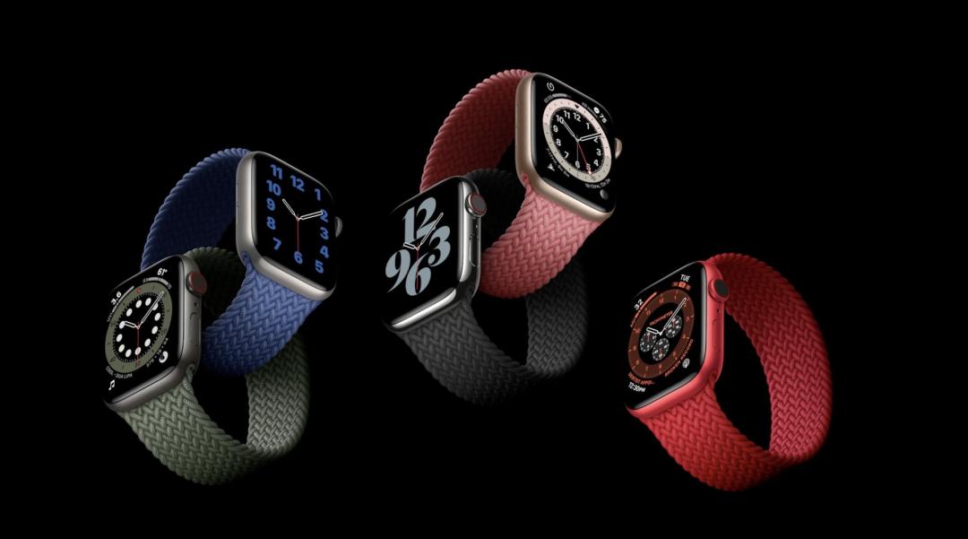 Apple Watch Series 6 编织材质