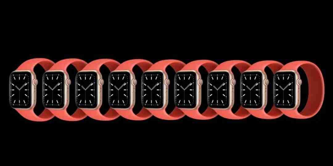 Apple Watch Series 6 超轻 Solo Loop 单圈表带