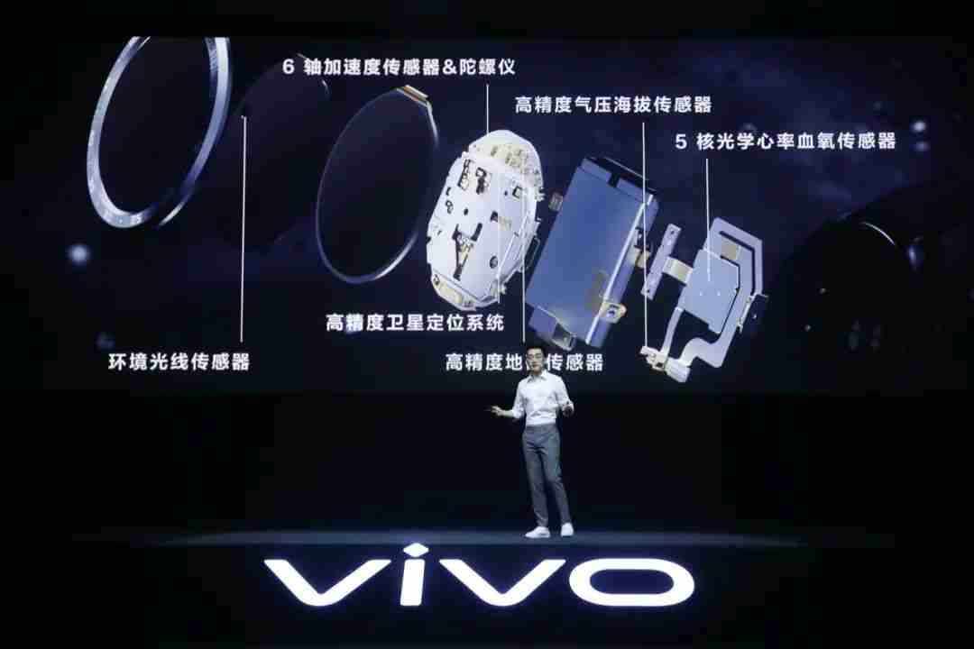 vivo watch传感器