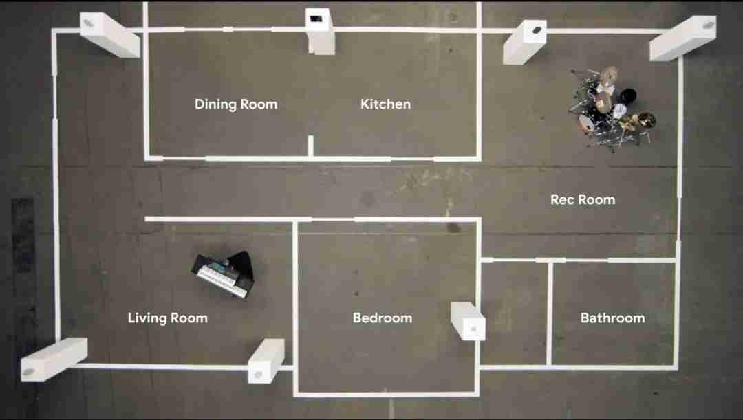 Google Nest Audio 多房间控制系统