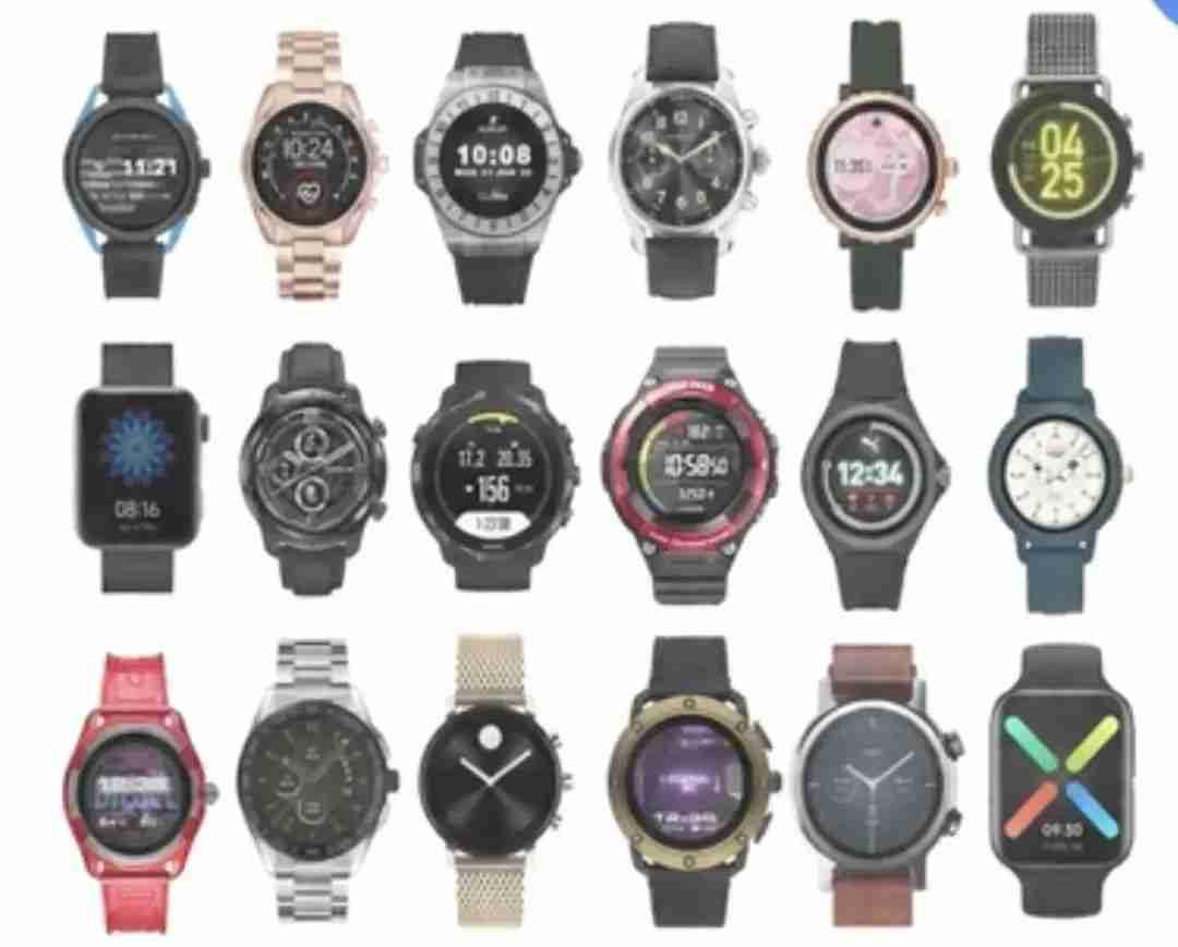 5-中国市场已经有 19 款新手表搭载了 Wear OS 操作系统