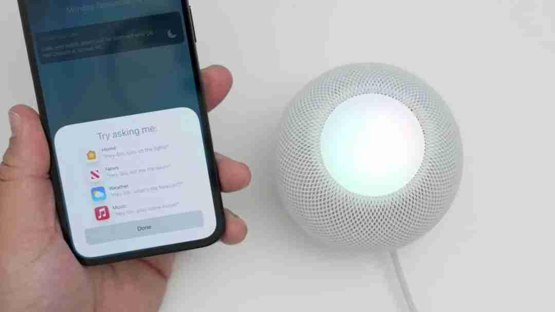 11-HomePod Mini x Siri