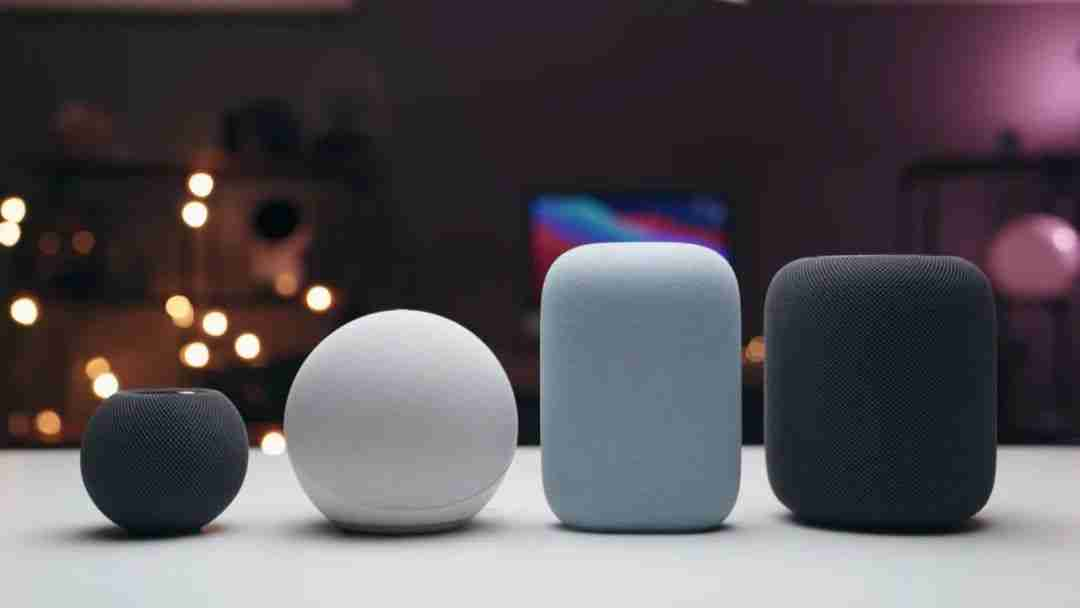 6-HomePod Mini与其他音箱产品大小对比