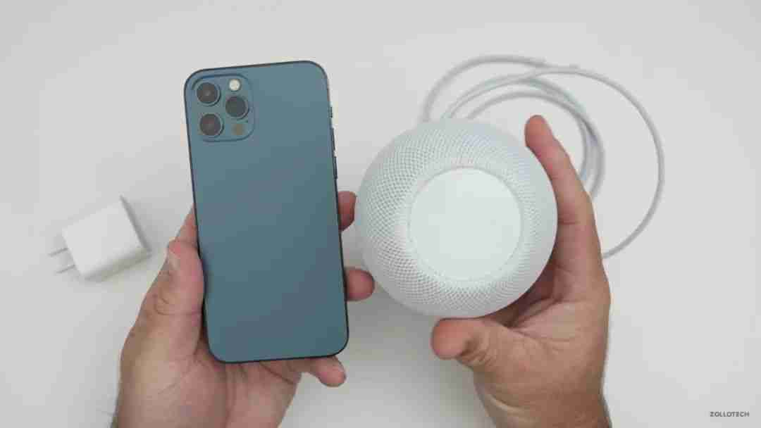 5-HomePod Mini与iPhone 12 Pro对比