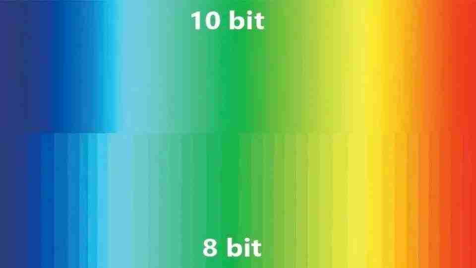 8位色深vs10位色深