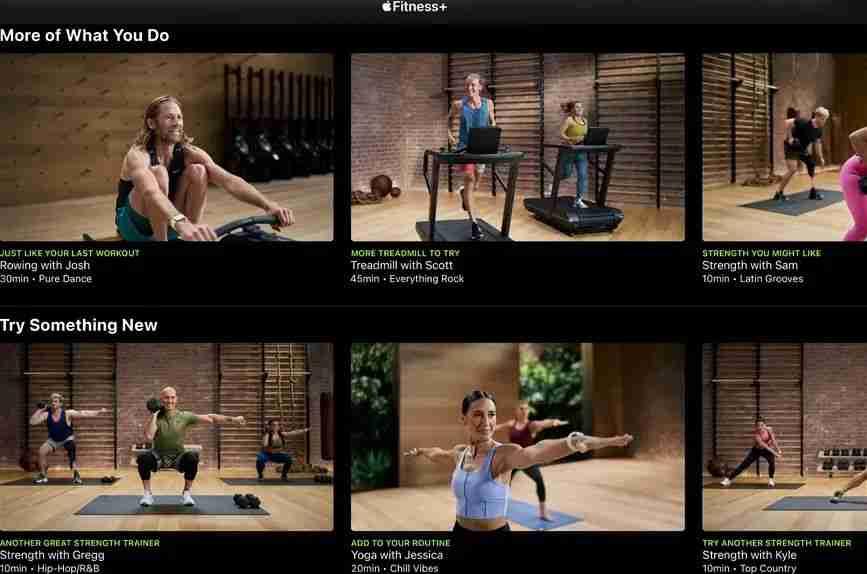 4-Fitness+课程