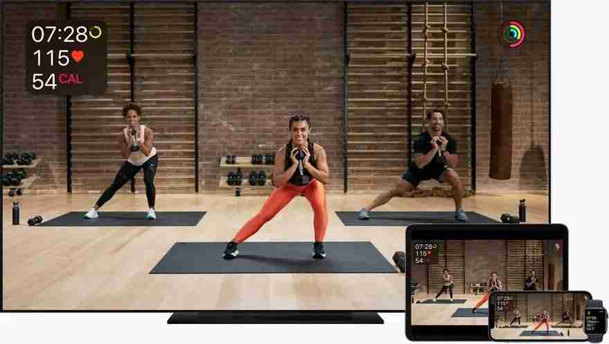 1-Apple Fitness+ 与设备协同