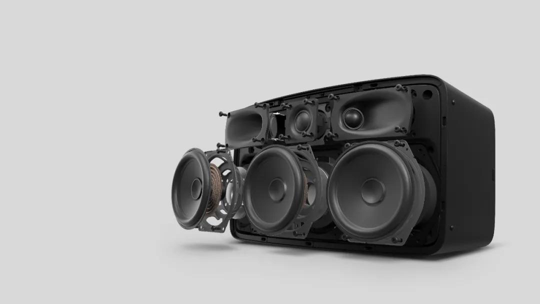 9-Sonos Five 机身内置六个定制扬声器