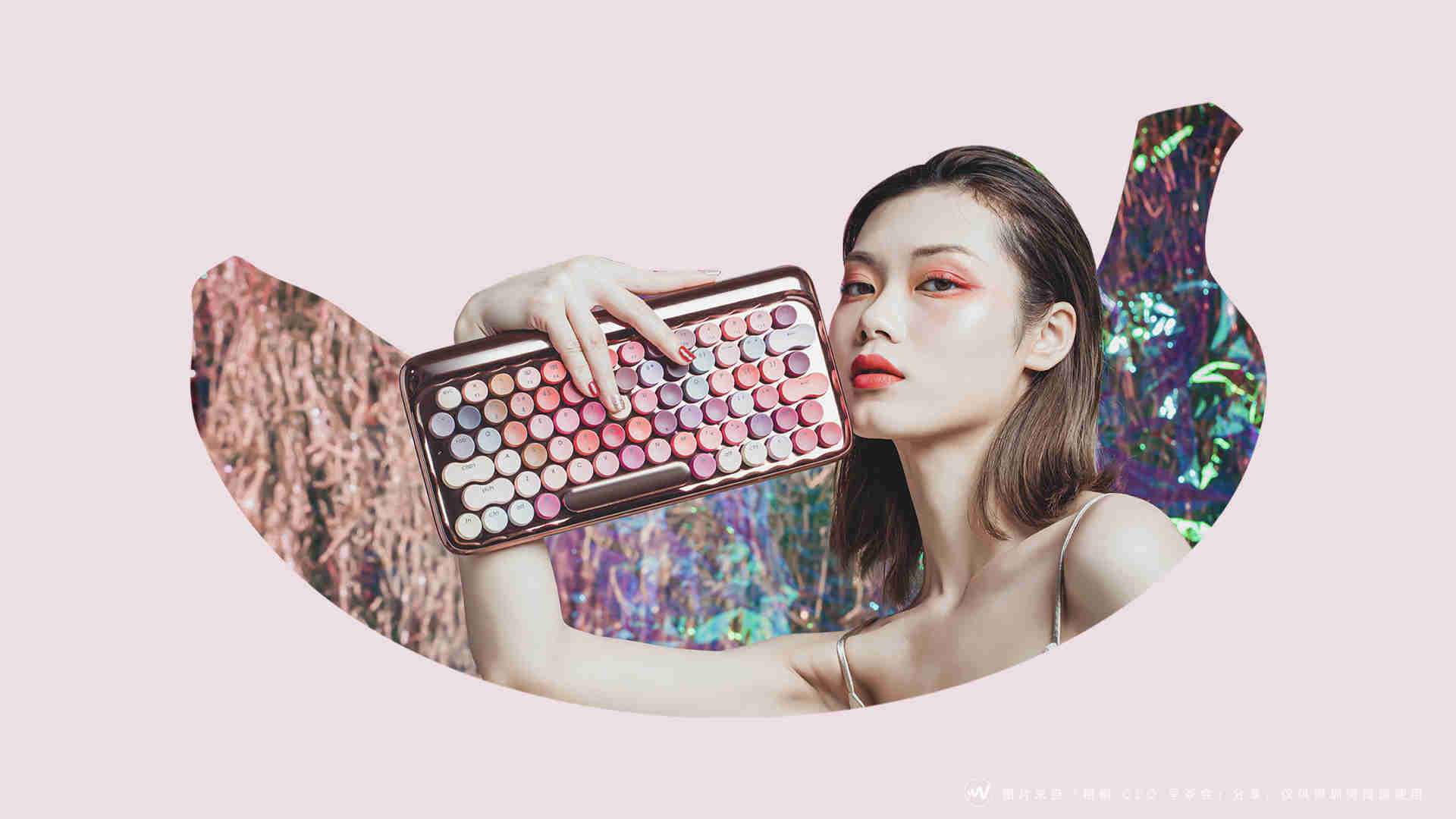 19-Lofree 洛斐口红键盘