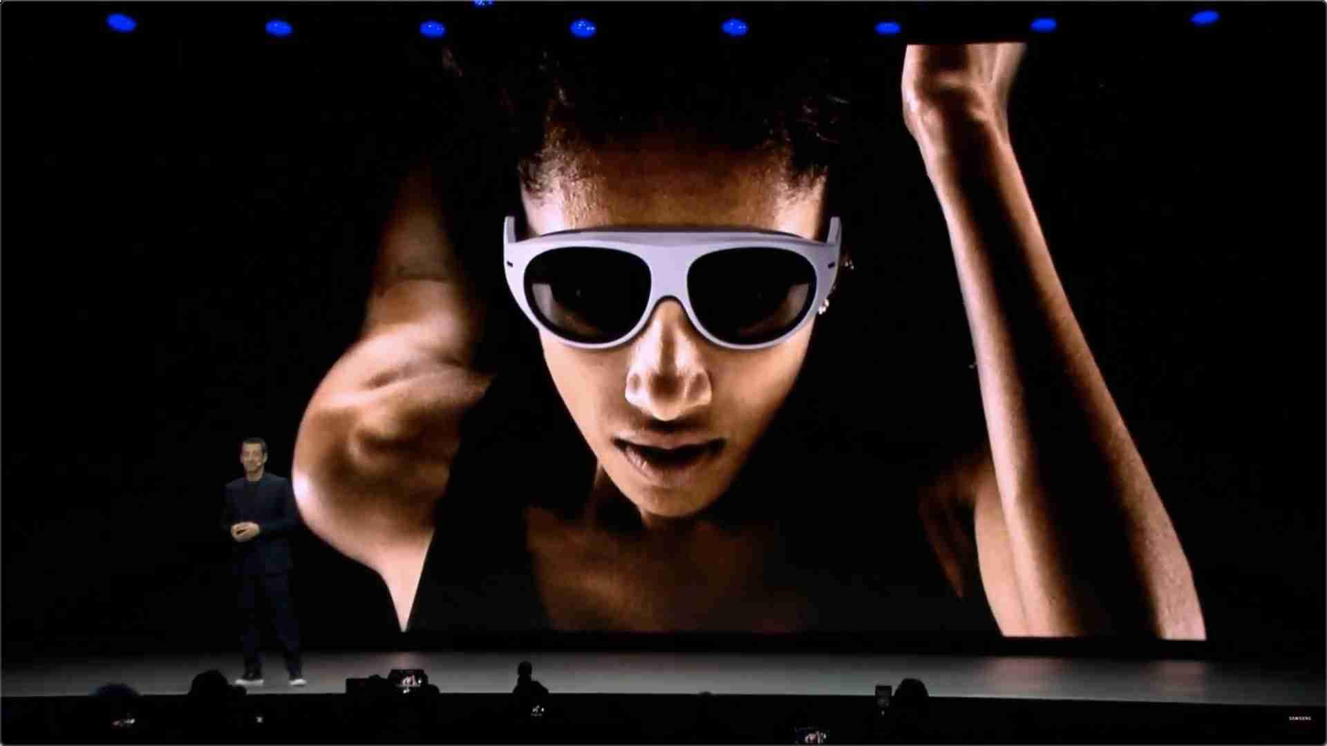 三星 CES 2020 AR 眼镜