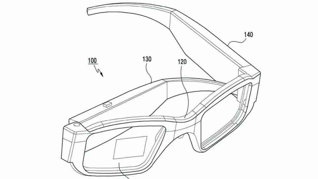 三星的一款智能眼镜专利被曝光