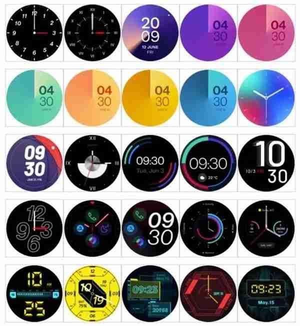 16-一加首款智能手表表盘