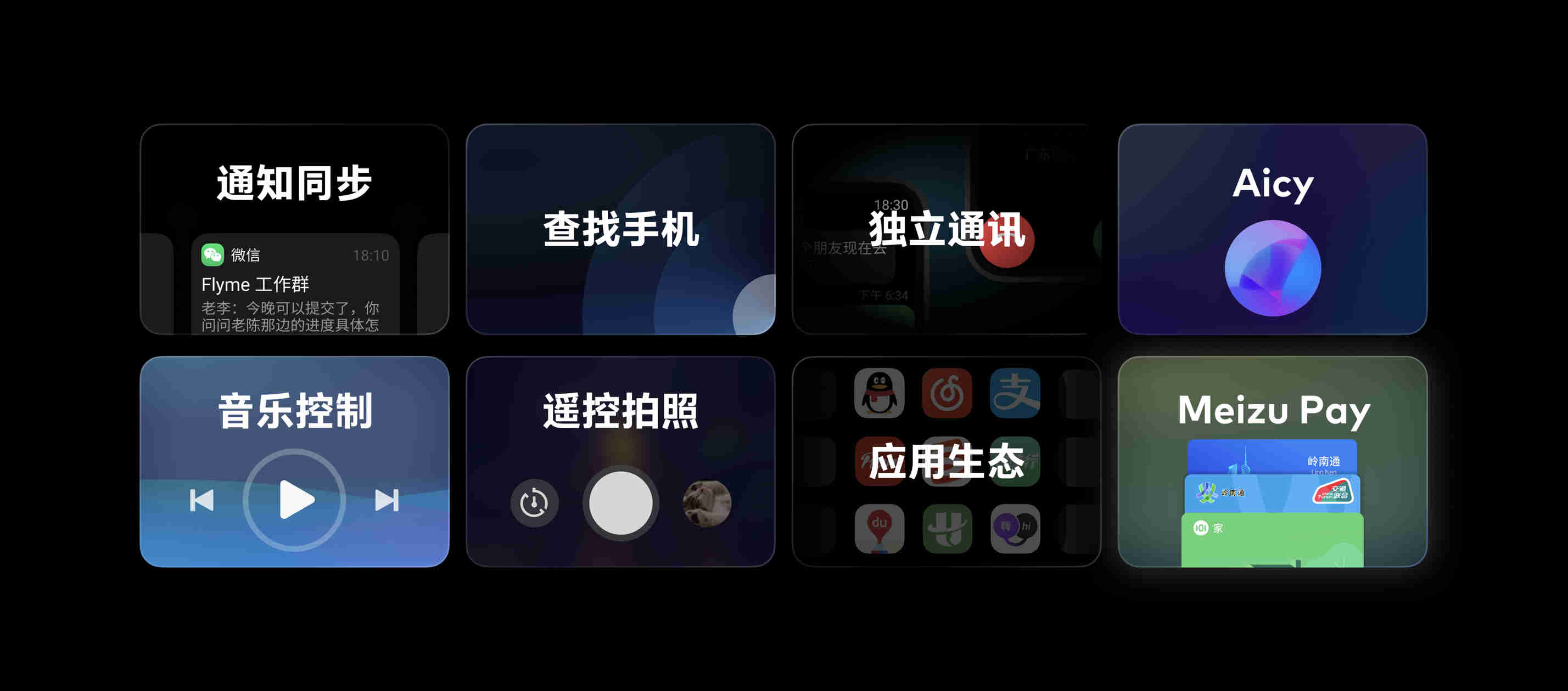 5-Flyme for Watch 功能