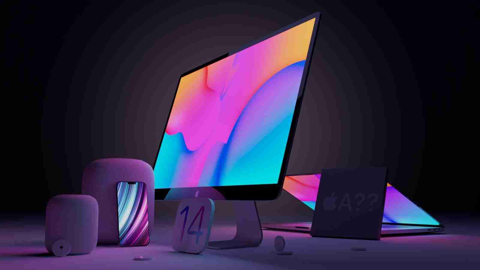 传闻中的苹果 2021 新品