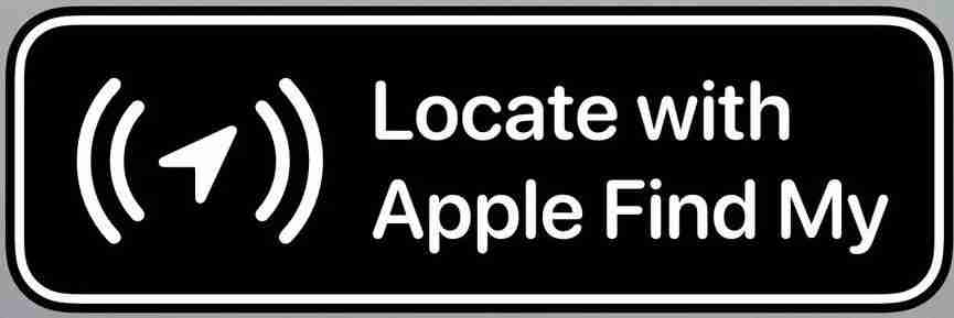 15-Locate with Apple Find My badge