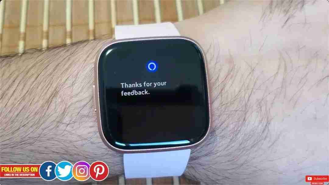 9-Fitbit Versa 2 的 Alexa 语音功能体验
