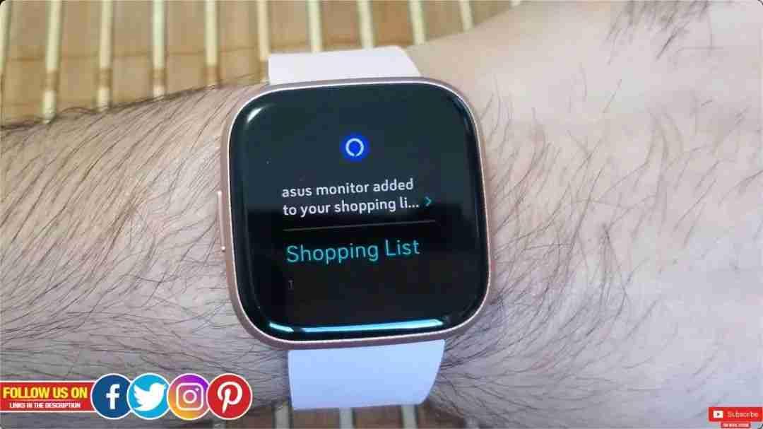 8-Fitbit Versa 2 的 Alexa 语音功能体验